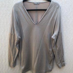 Zara Collection V-Neck Shirt